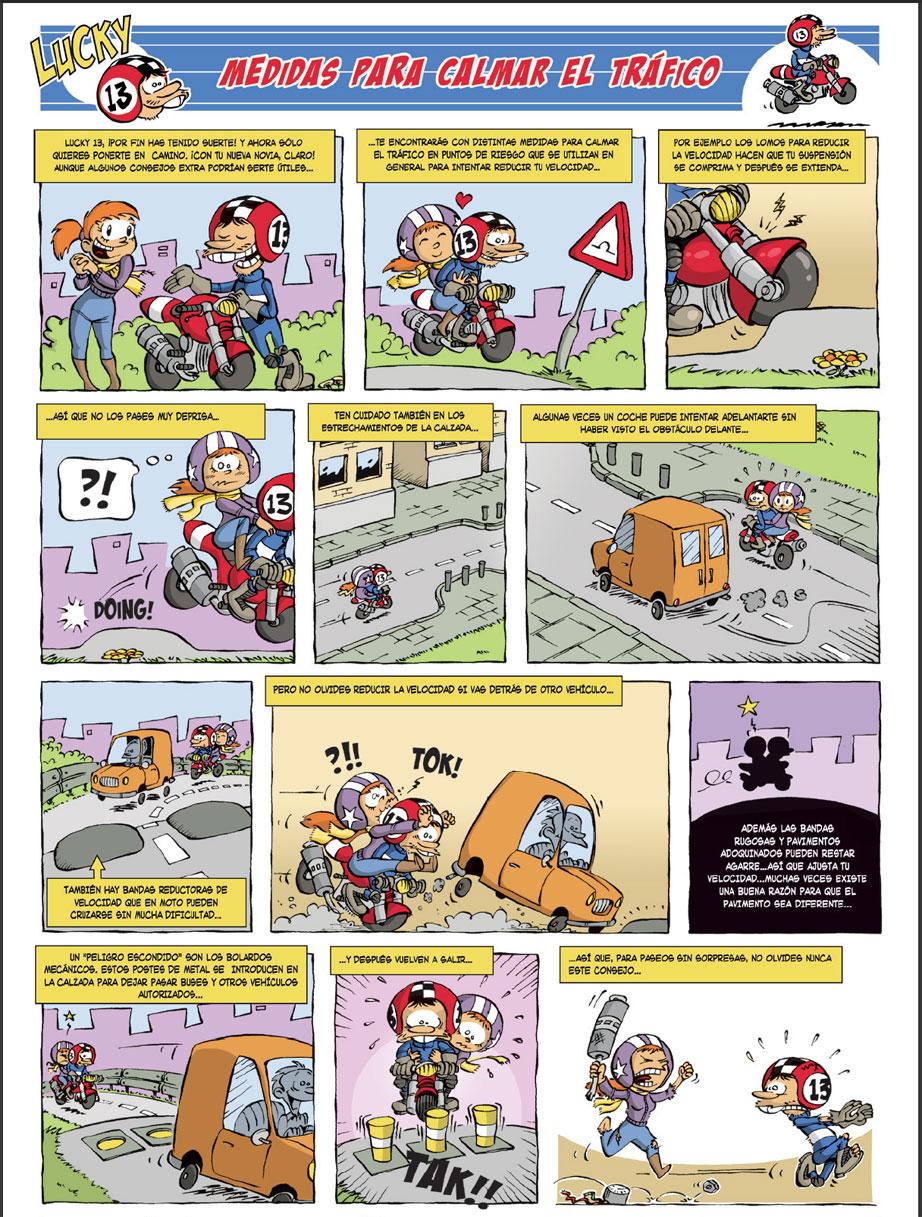 Consejos Lucky Dispositivos que calman el tráfico
