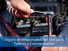 Seguros de Responsabilidad Civil para Talleres y Concesionarios motopoliza.com