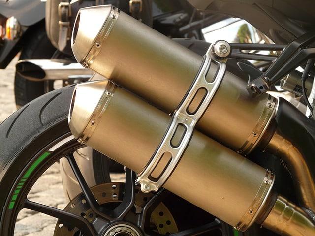 motos y medio ambiente
